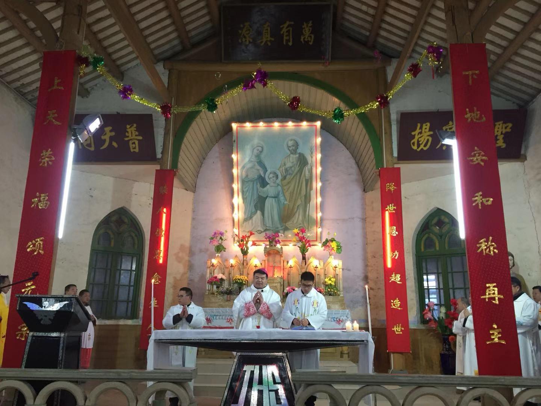热烈庆祝徐州教区邳城天主堂建堂一百二十周年